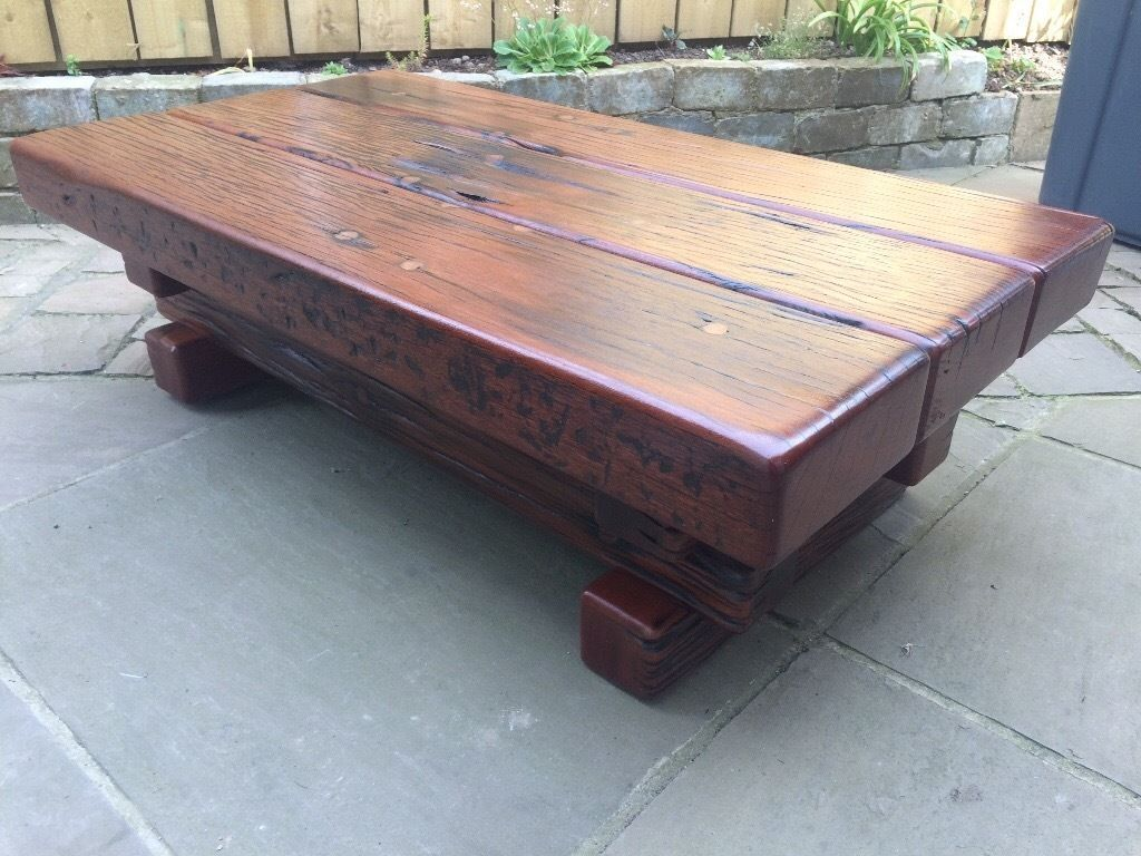 jarabosky solid hagar rectangular coffee table, made from jarrah