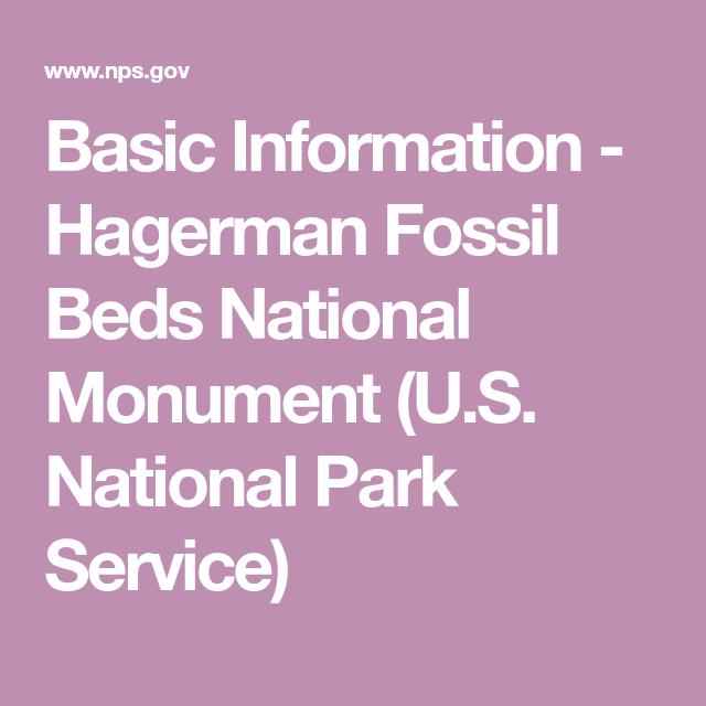 7bd97c77f2da Basic Information - Hagerman Fossil Beds National Monument (U.S. National  Park Service)
