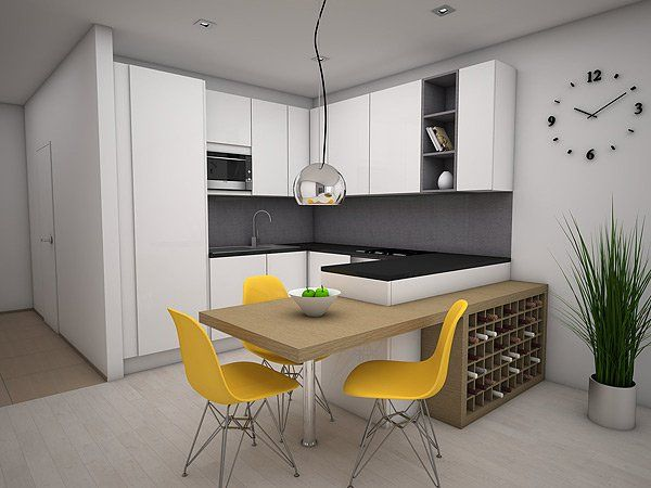 Interior design of apartment in PETRŽALKA CITY - Arcada.sk