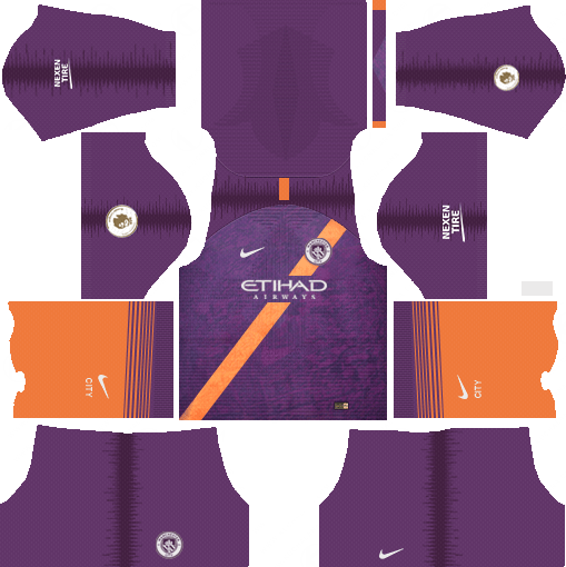 Manchester City Third Kit 2018 19 Dream League Soccer Kits Soccer Kits Manchester City Soccer