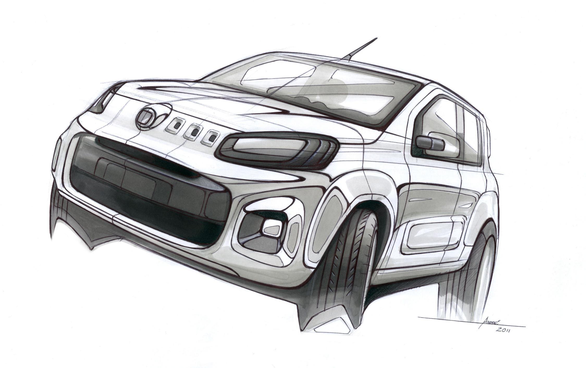 Pin by Keyur Bhesania on sketches   Pinterest   Sketches, Car sketch ...