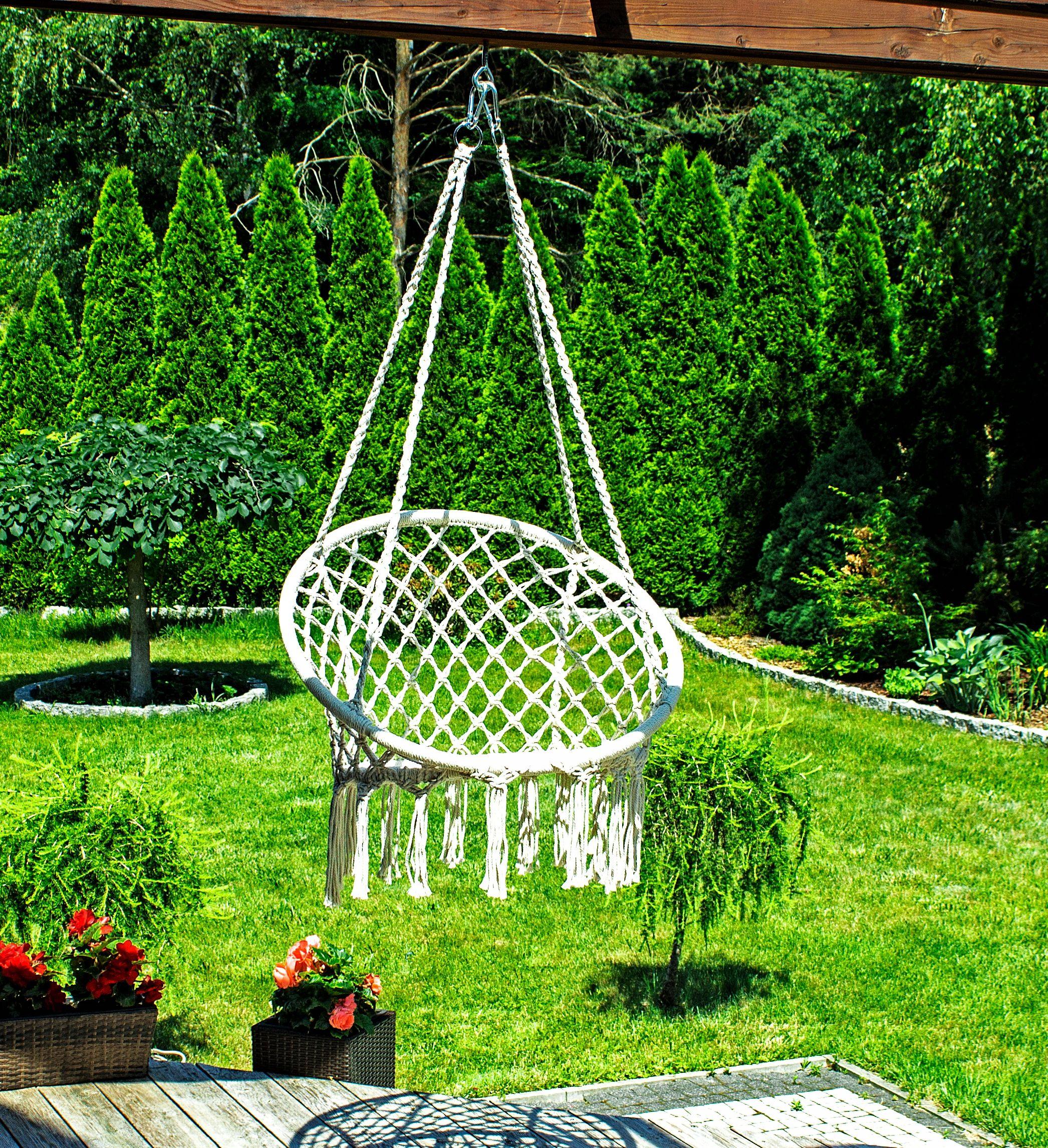 Rio Hustawka Fotel Wiszacy Bocianie Gniazdo 120kg 8144227166 Allegro Pl Hanging Chair Hanging Decor