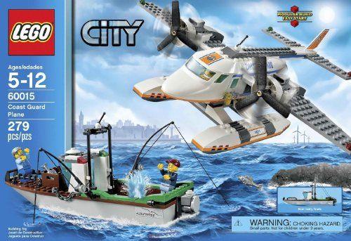 LEGO City Set #60015 Coast Guard Plane