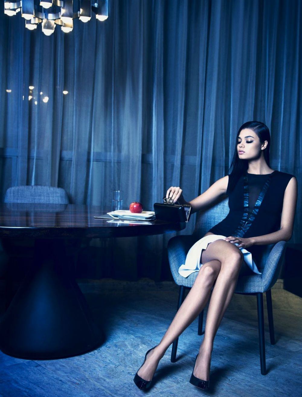 Model Daniela Braga, photographer Yossi Michaeli for Harpers Bazaar, Brazil, August 2013