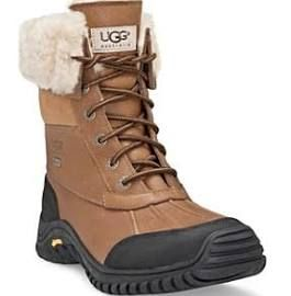UGG Adirondack Women's Waterproof Snow Boots in Black/Grey