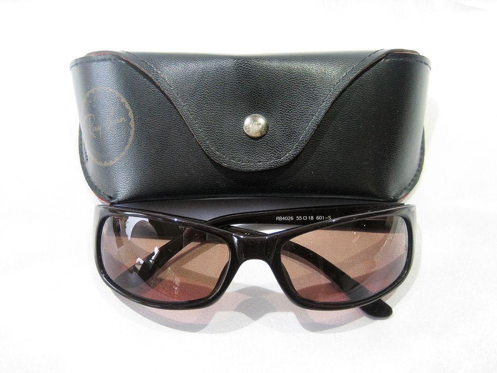 d312be470 Authentic Classic Ray-ban Polarized Predator Sport Wrap Sunglasses RB 4026  Case #RAYBAN #SHOTSPORTWRAP