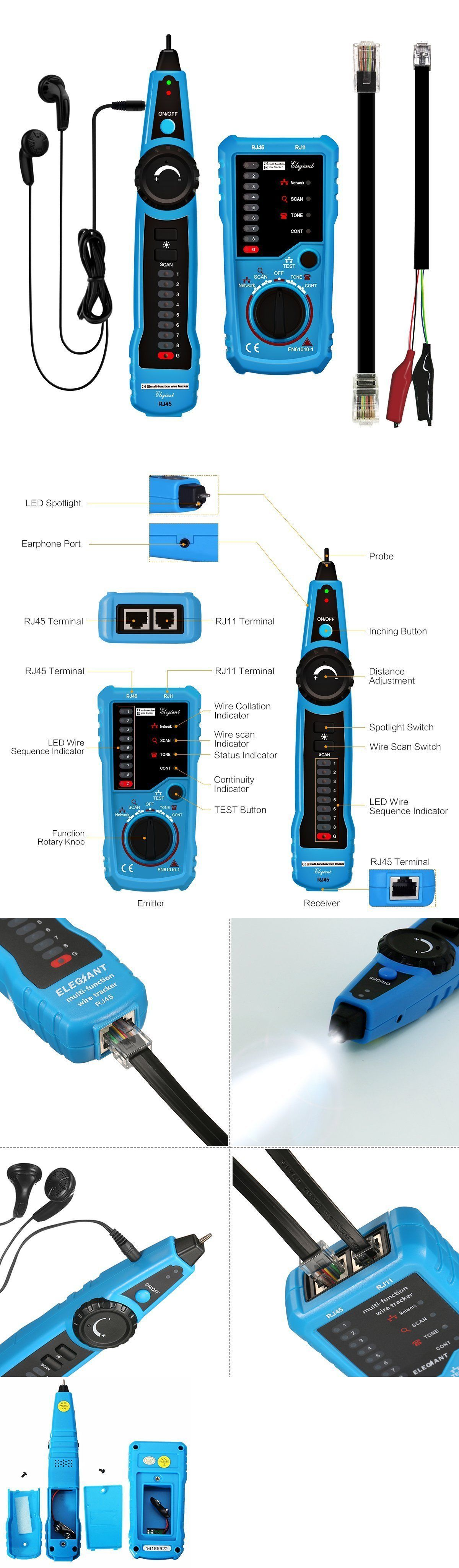 Computer Cable Testers 58300 Wire Tracker Cable Tester Line Finder Multifunction Toner Ethernet Lan Network Buy It Network Cable Cable Ebay