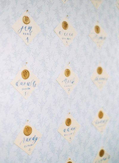 From the golf course venue to the calligraphy ribbons, every detail of Jessica and Zack's wedding was beautiful and intentional! Photography: Perry Vaile