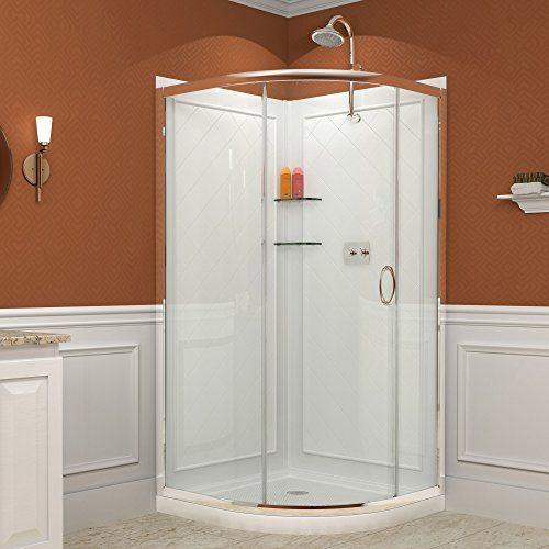 Dreamline Solo 34 3 8 By 34 3 8 Frameless Sliding Showe Https Www Amazon Com Dp B00cpspfqe Re Shower Enclosure Frameless Shower Enclosures Corner Shower
