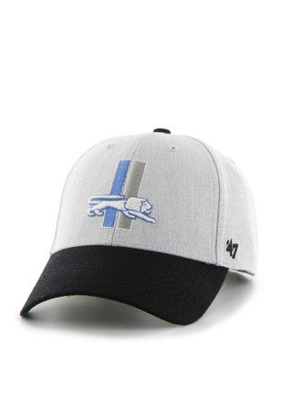 16a40212ba9  47 Detroit Lions Mens Grey Munson Adjustable Hat.