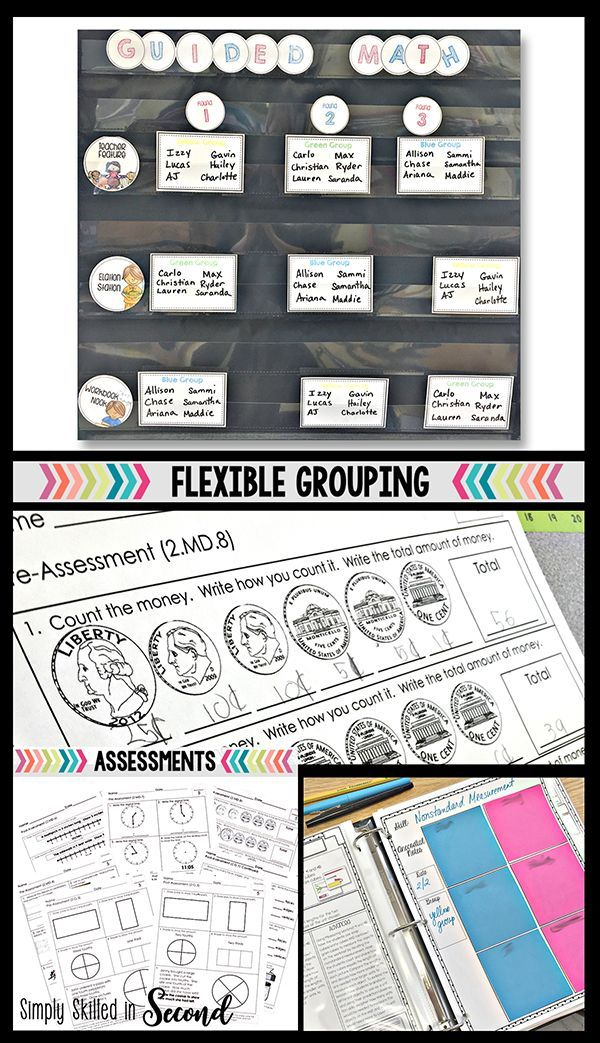 Guided Math: All Things Flexible Grouping .. Head on over to the blog to read about how to create flexible groups for your small group instruction and WHY this is such an important aspect to guided math success! This is the second installment of my blog series Get Your Groove on with Guided Math! Check it out!