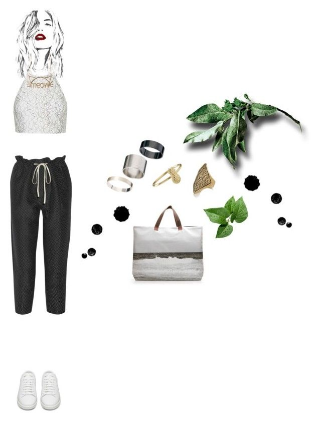 """""""Blank Space"""" by duciaxoxo ❤ liked on Polyvore featuring Topshop, 3.1 Phillip Lim, Yves Saint Laurent, Just Acces and Dezso by Sara Beltrán"""