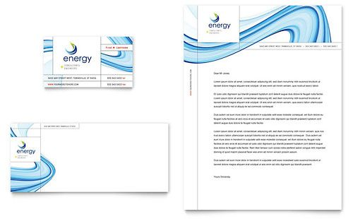 Energy Amp Environment Letterheads  Free Small Medium And Large
