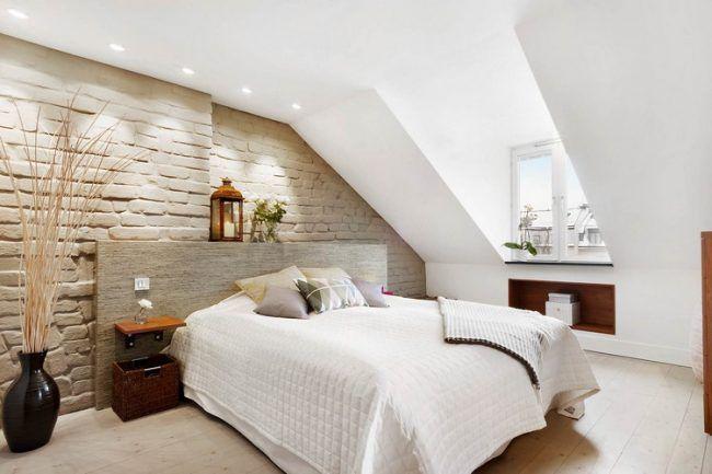Schon 55 Dachschräge Ideen   Möbel Geschickt Im Raum Platzieren
