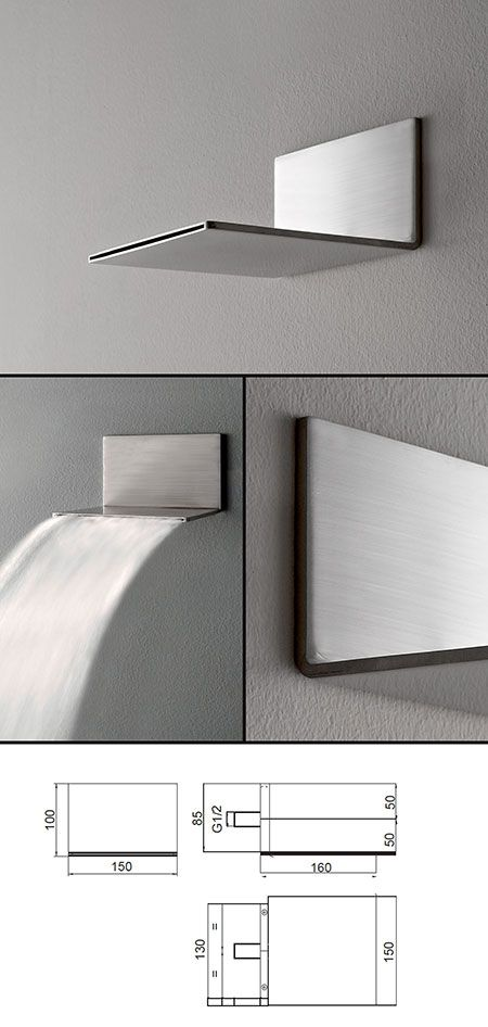 Slimm waterfall shower head showers water - What uses more water bath or shower ...