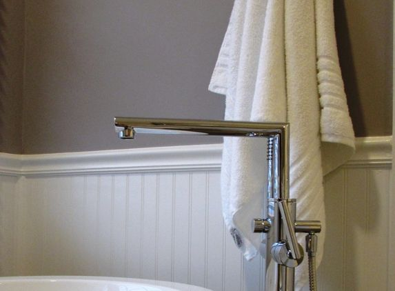 Talon Construction   Frederick, MD. Bathroom Remodel In Frederick County  With Chrome Tub Faucet