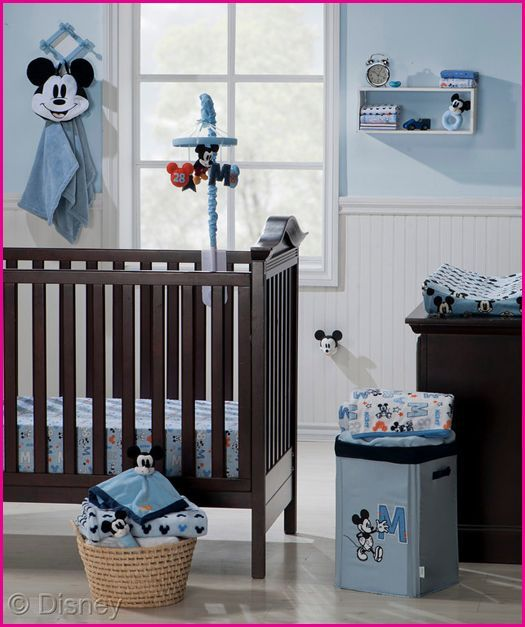 Disney baby nursery essentails mickey mouse pregnancy kinderzimmer kinder kinder zimmer - Baby jungenzimmer ...
