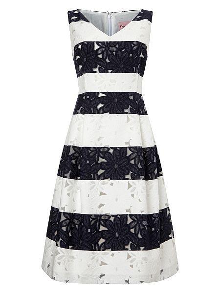 6f1ac05221 Nautical Lace Bea Stripe Dress