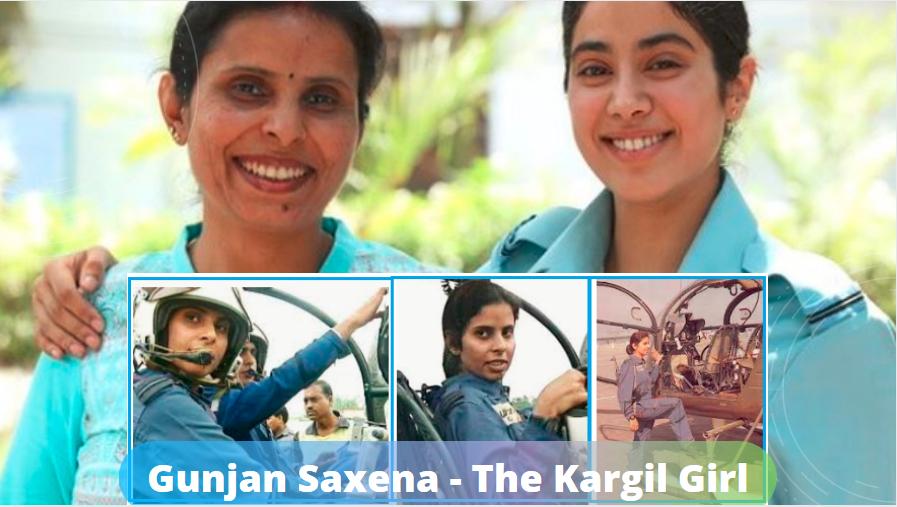 Gunjan Saxena The Kargil Girl Bio Wiki Life Story In 2020 Motivational Stories Real Life Stories Life Stories
