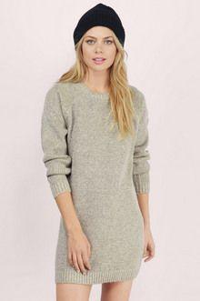774fca4ea7e Comfy Cozy Sweater Dress Tobi.com 50% Off Your First Order! | Future ...