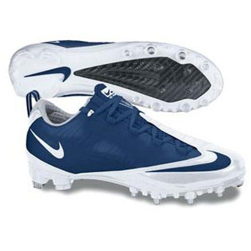 bd4c045eb08 Nike Zoom Vapor Carbon Fly Td Football Cleats White Navy Blue  138.99