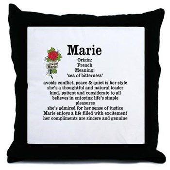 Bedeutung Name Marie