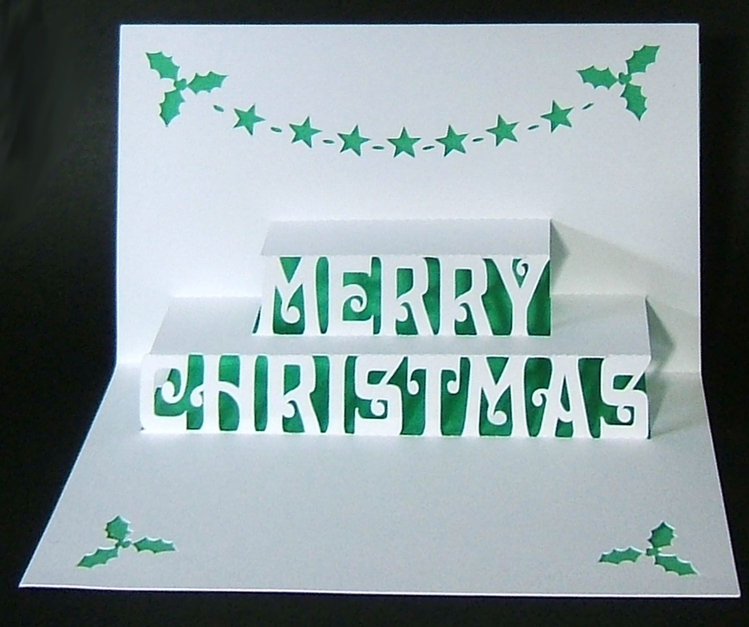 Want To Make Your Own Pop Up Christmas Cards This Year Diy