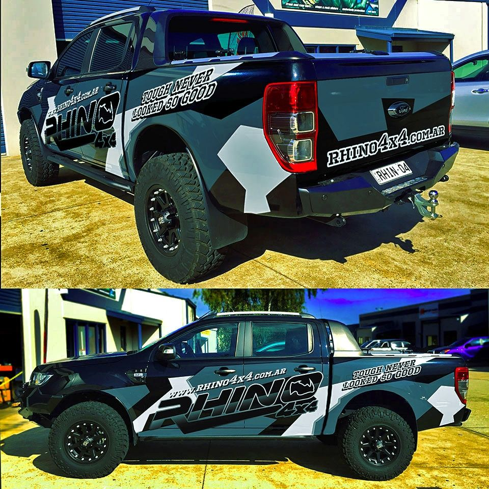 Design car contest - At Rhino Picked A Winning Design In Their Car Truck Or Van Wrap Contest
