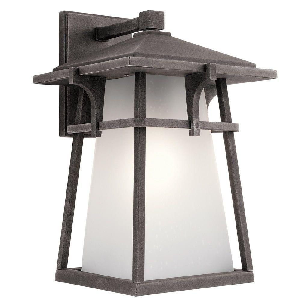 Kichler lighting beckett collection light weathered zinc grey
