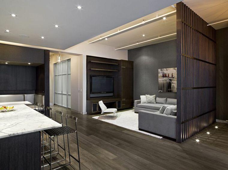 en los lofts y los espacios abiertos es necesario separar los ambientes para aprovechar mejor el espacio puedes conseguirlo con separadores de ambientes - Separadores De Ambientes