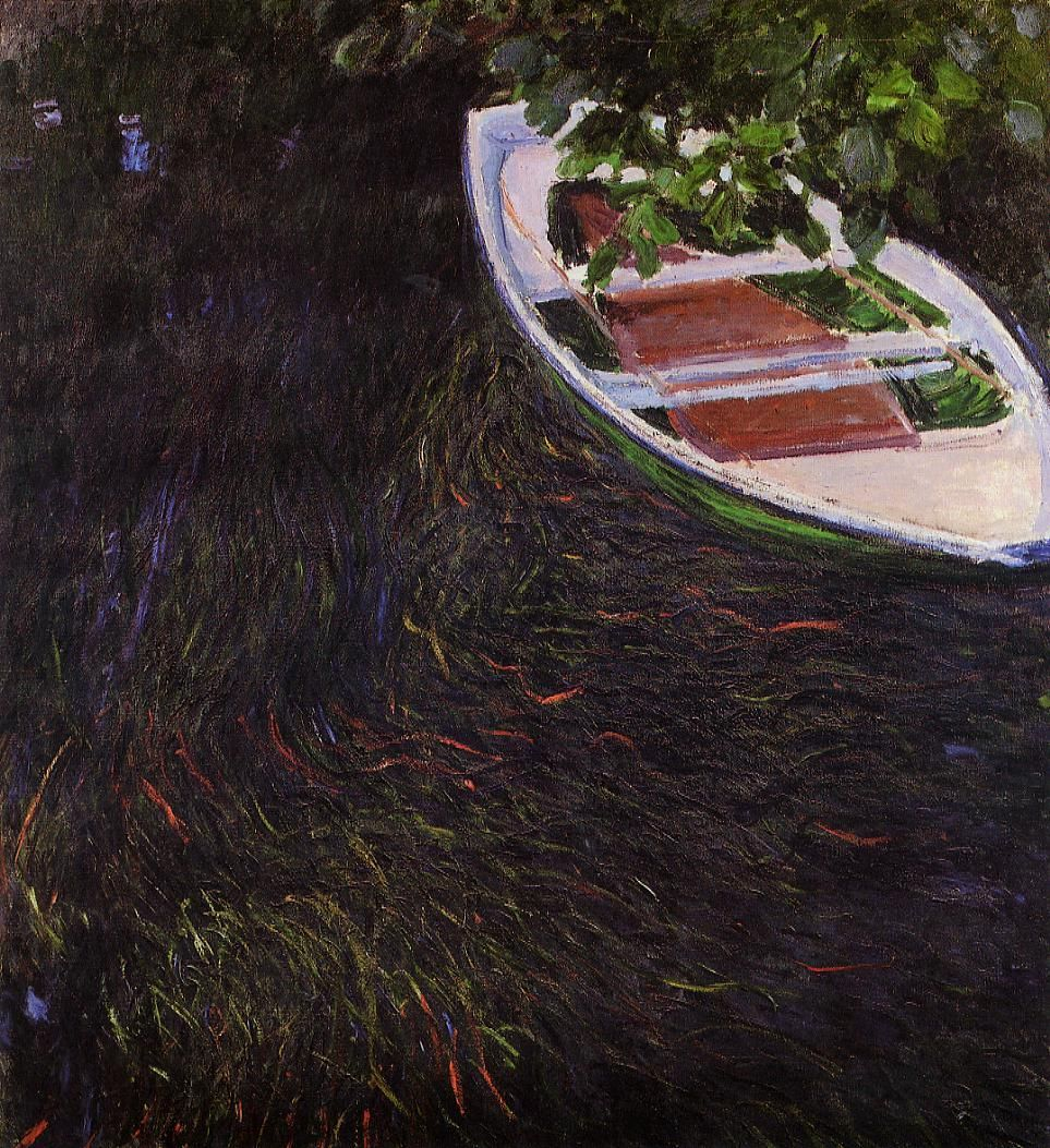 Claude Monet (1840-1926) - The Row Boat - 1887 - Musée Marmottan Monet, Paris