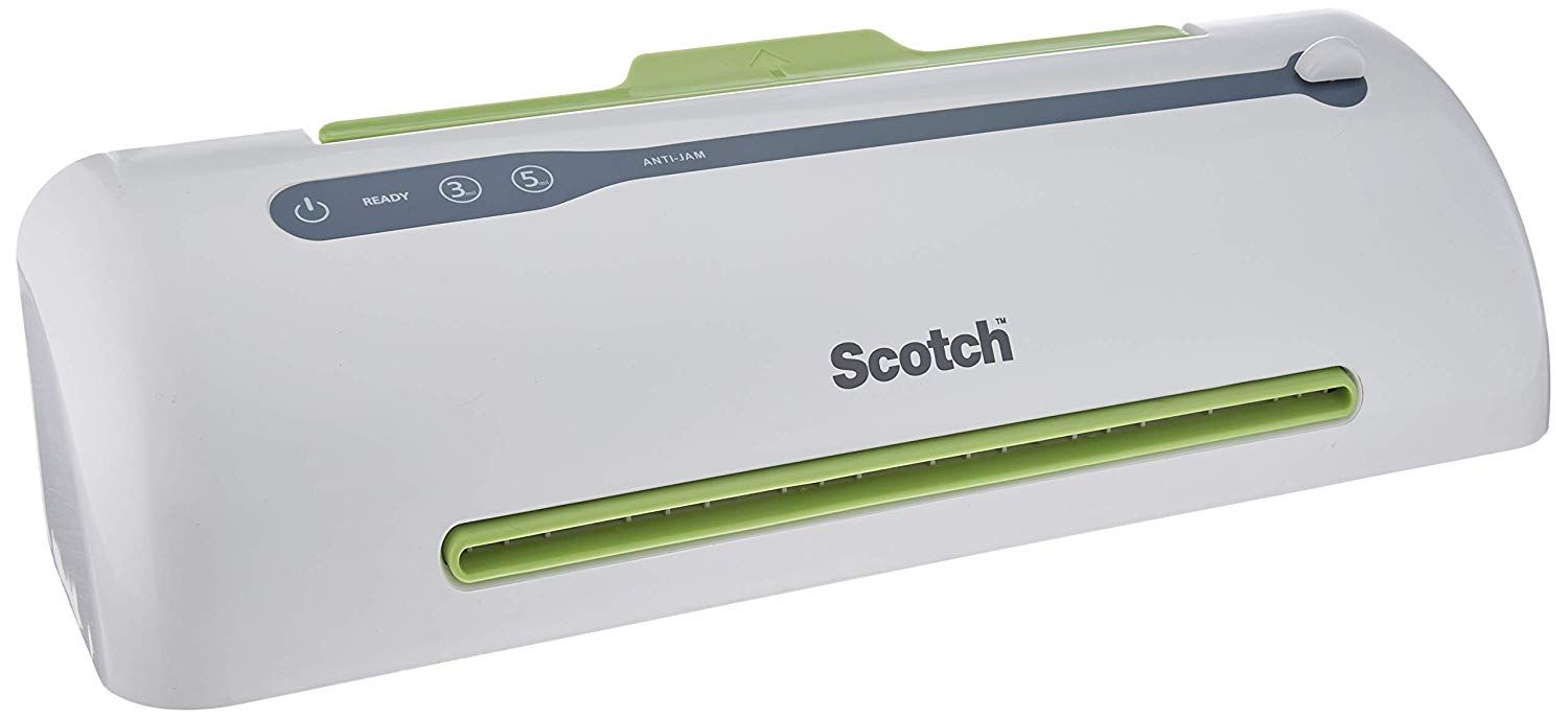 Never Jam Technology Automatically Prevents... Scotch PRO Thermal Laminator