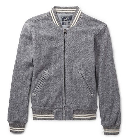 Grayers Russell Herringbone Cotton Bomber Jacket | My Style ...