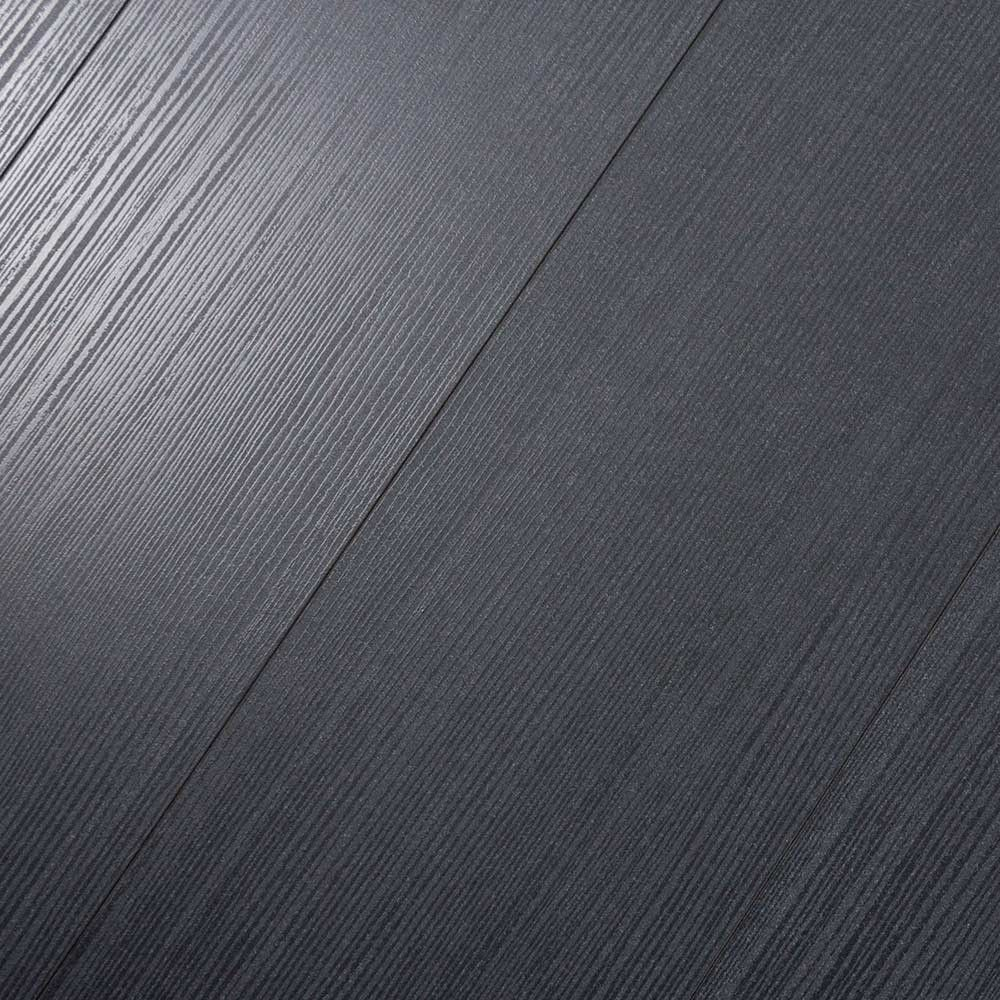 Kronoswiss Noblesse V4 Rigoletto Black Is Dark And Mysterious And Now With A Beveled Edge This Black Laminate Has A Unique Durable Flooring Montcalm Laminate