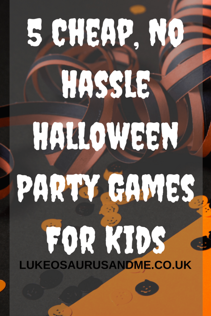 5 Cheap, No Hassle Halloween Party Games For Kids
