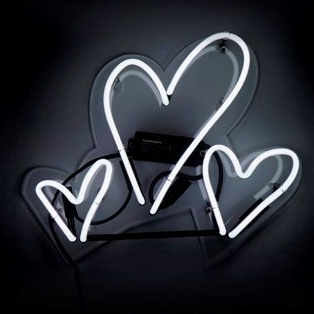 Hearts Neon Themed Sign Neon Sign Tumblr Neon Signs Neon Light