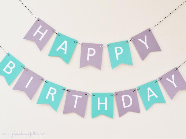 Letrero De Happy Birthday Para Imprimir ~ Guirnaldas happy birthday a imprimir imprimibles e ideas para
