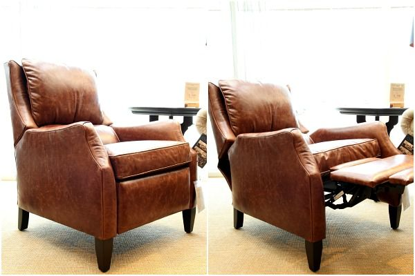 Exceptionnel I Found This Cushy Recliner First. I Love That It Looks Like An Unassuming  Club Chair In The Upright Position. The Slender Arms Are So Much Better  Than The ...