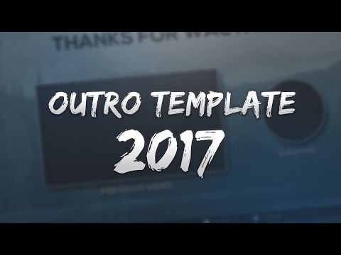 Free 2017 2d outro template tutorial photoshop youtube free outro template 8 pushed to insanity templates custom pronofoot35fo Choice Image