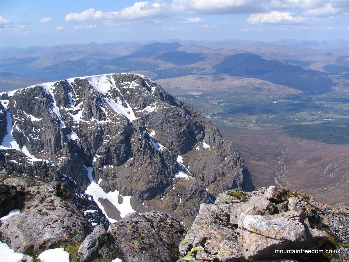 North Face from the Summit, Ben Nevis - Mountain Freedom