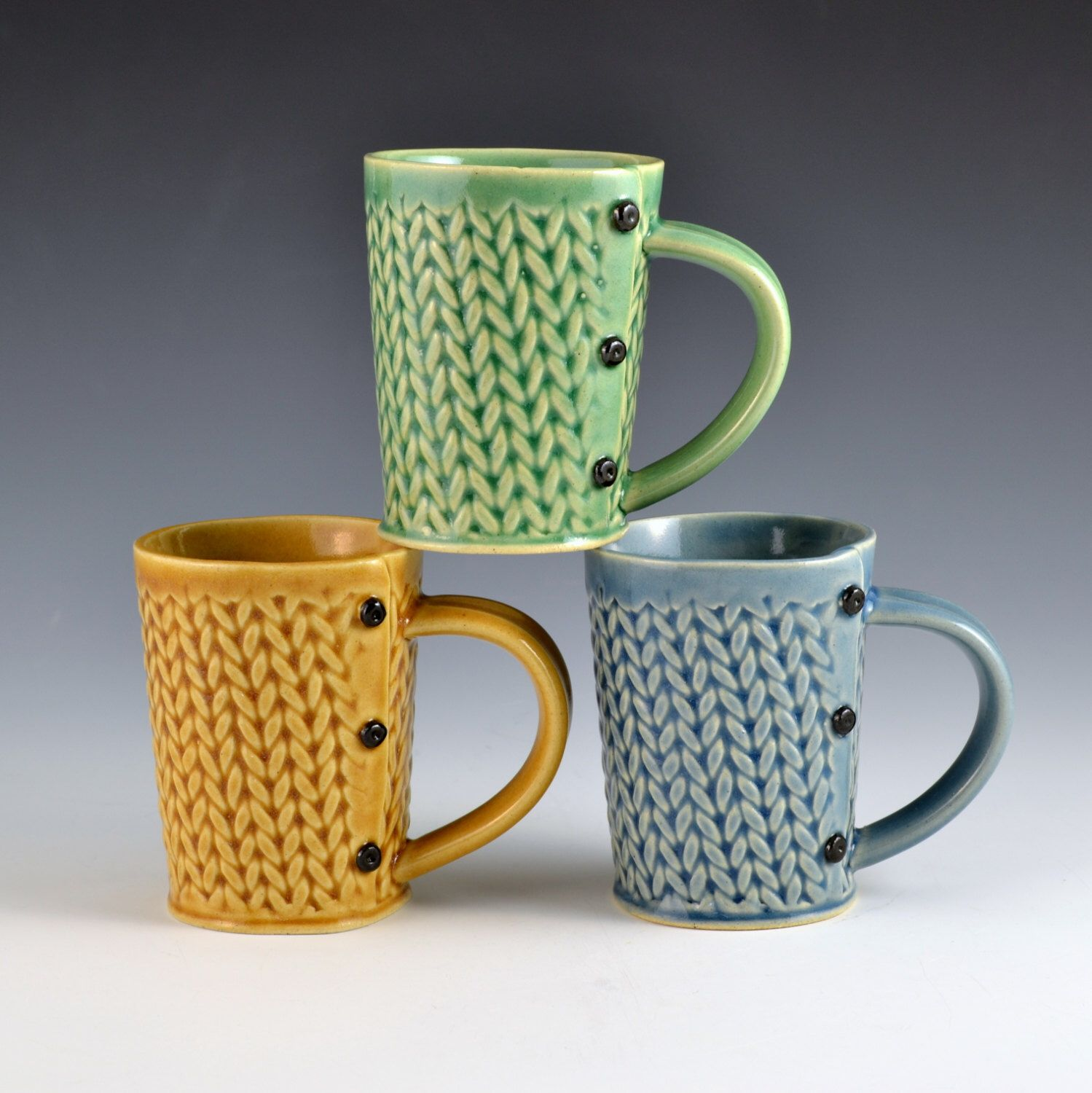 Medium Tea Cup Mug Knitted Pattern, tea cup, tea mug