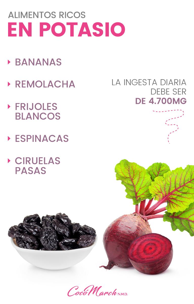 Los Mejores 12 Alimentos Ricos En Potasio Lista Completa Alimentos Ricos En Potasio Alimentos Con Potasio Alimentos