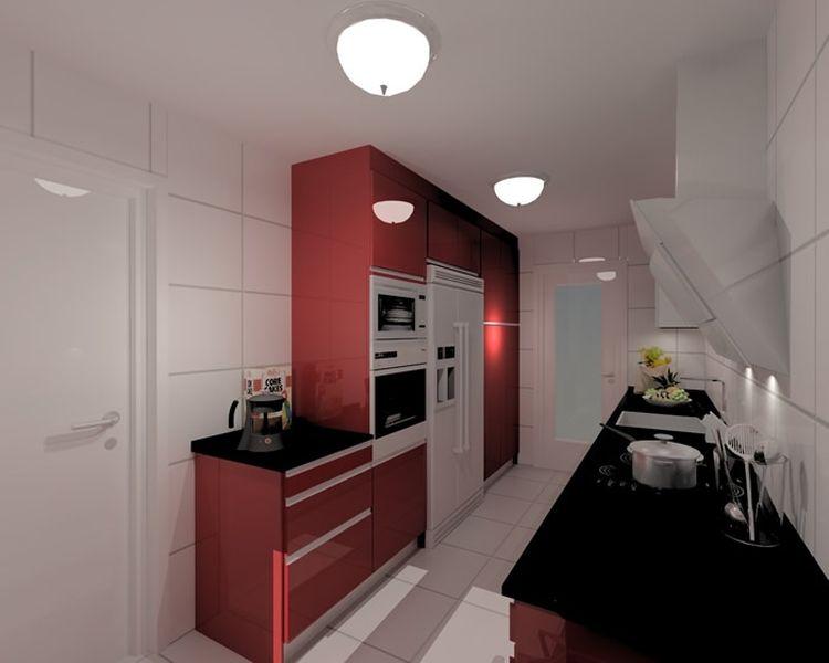 encuentra ideas de decoracin de interiores para cocinas soluciones para cocinas estrechas y alargadas - Cocinas Alargadas Y Estrechas