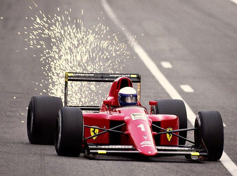 Alain Prost - Ferrari - Spa 1990