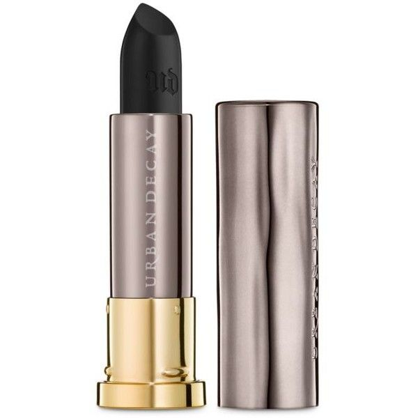Urban Decay Perversion Comfort Matte Vice Lipstick (£14) ❤ liked on Polyvore featuring beauty products, makeup, lip makeup, lipstick, urban decay and urban decay lipstick