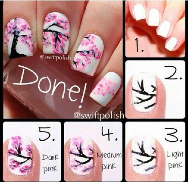Pol to the lish nail art blogspot spring nails step by step pol to the lish nail art blogspot spring nails step by step prinsesfo Gallery