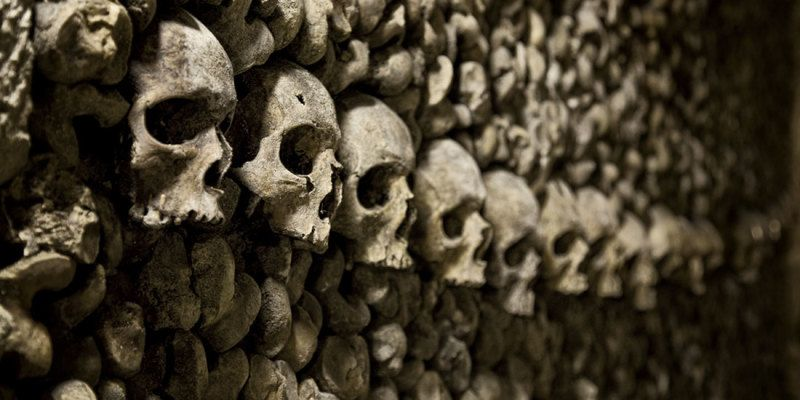 When they ran out of room, this church dug up 50,000 bodies... and made decorations out of them. But the story gets even stranger..