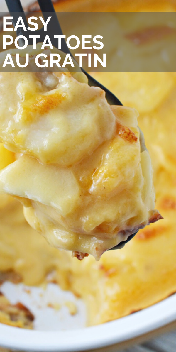 Easy Potatoes Au Gratin