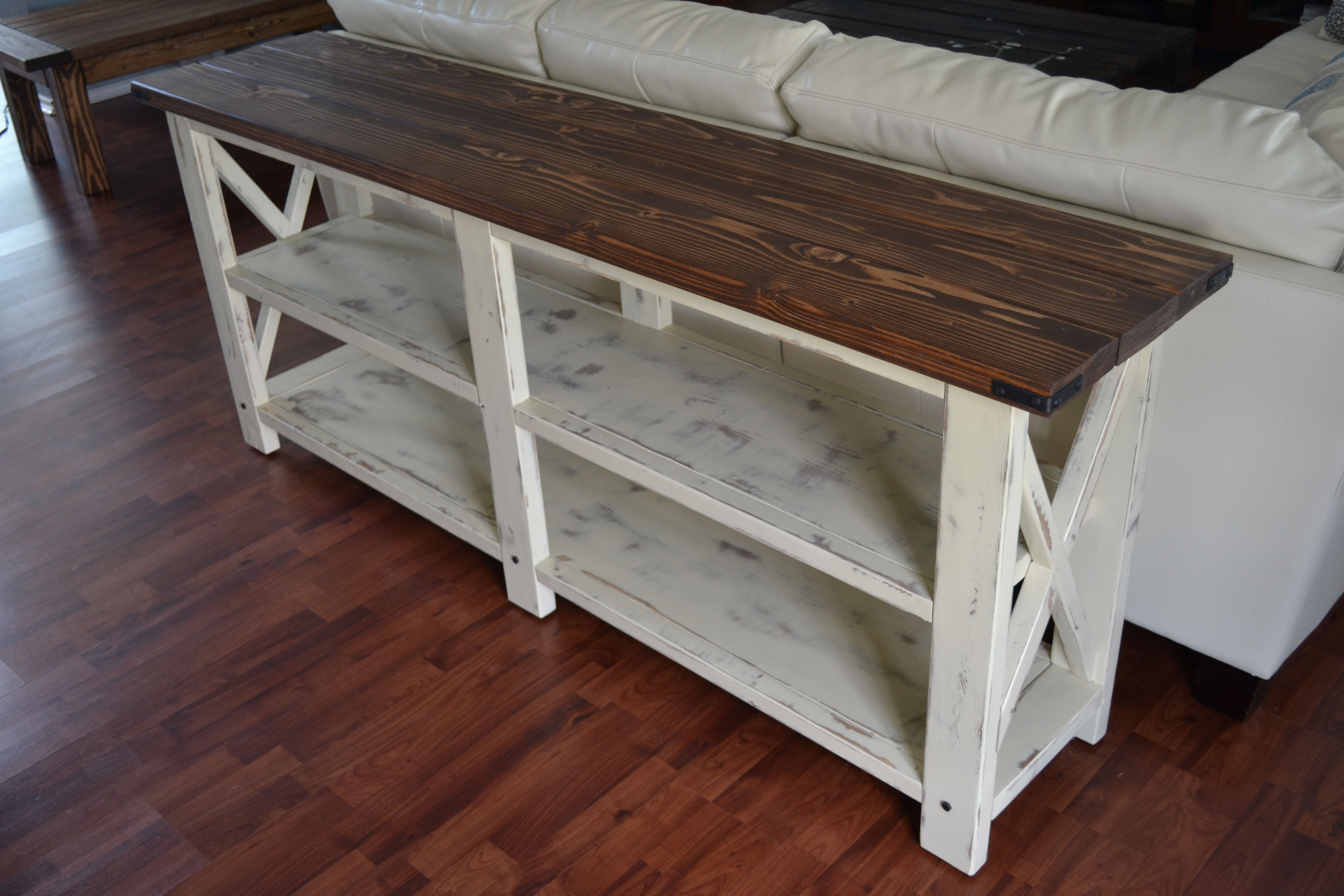 Console Table Do It Yourself Home Projects From Ana White Diy