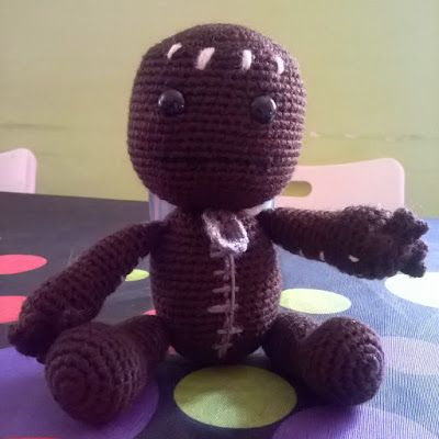 "La Comunidad del Ganchillo: Patron Sackboy ""Little big planet"""